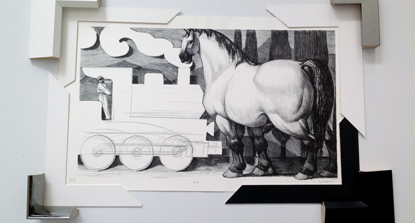 Giampaolo Tomassetti, Litografia, Tipogr. Grifani-Donati (Città di Castello)